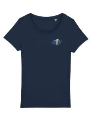 T-shirt - 2021 - Dame - Blå