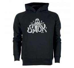 Sweatshirt med hætte sort. 2019