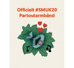 Officielt #SMUK20 Partoutarmbånd