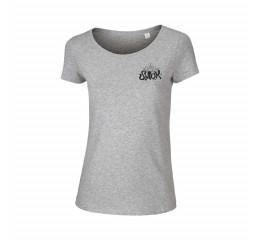 Årets T-shirt dame grå. 2019