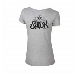 2019 T-shirt, Dame, Grå