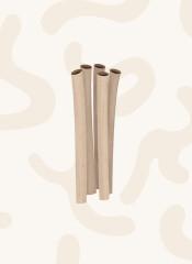 Bambussugerør - 100 stk