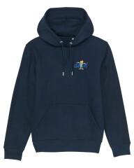 Sweatshirt med hætte - 2021 - Unisex - Blå