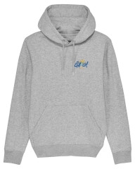 Sweatshirt med hætte - 2021 - Unisex - Grå